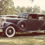 1933 Pierce-Arrow Model 1247 LeBaron Club Sedan