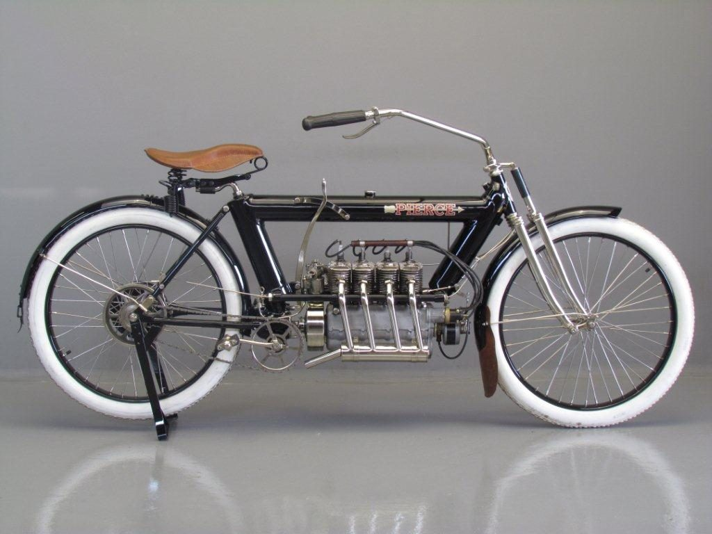 Pierce-Arrow 4 Cylinder Motorcycle